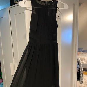 H&M Dresses - sheer long black dress from H&M